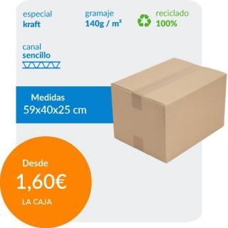 Caja de Cartón de 59x40x25...