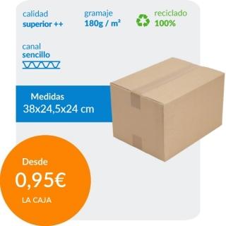 Caja de cartón 38x24,5x24...