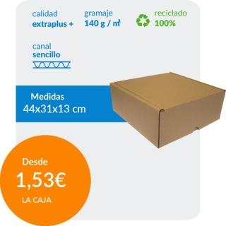 Caja de cartón automontable...
