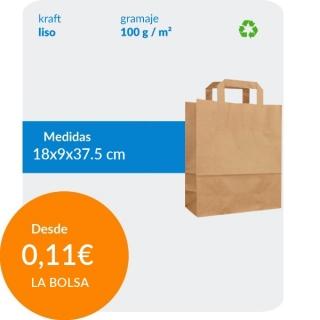 Bolsa de Asa Plana Marrón...