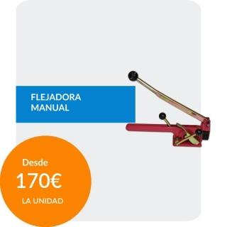 Flejadora Manual para Fleje...