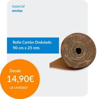 Rollo Cartón Ondulado 90cm...