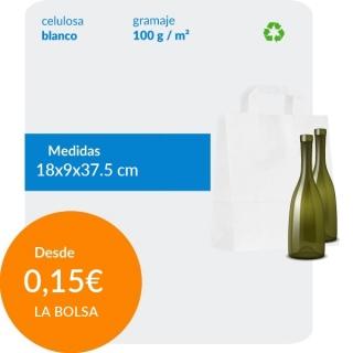 Bolsa de Asa Plana Blanco...