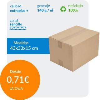 Cajas de Cartón de 43x33x15...
