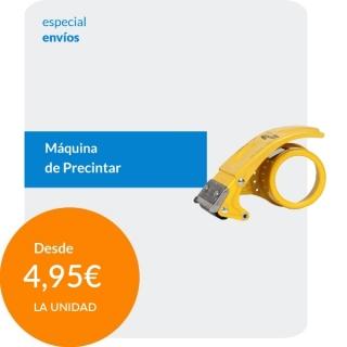 Máquina precintar Amarilla...