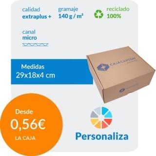 Caja Automontable con tapa...