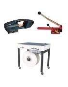Flejadora manual, eléctrica, automática y semiautomática